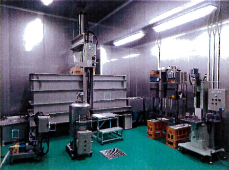 HACCP対応コンパクト圧搾・壜詰場